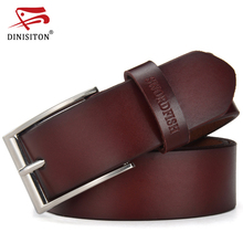 Buy DINISITON Luxury Belts Men Genuine Leather Strap Male Fashion Brand Man Wide Tactical Belt New Designer Jeans Belts Cinto CM for $10.84 in AliExpress store