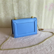 Genuine Leather Flap Bags Famous Brand Women Leather Handbags Newest Summer Style Designer Chain Shoulder Bags bolsa feminina(China)
