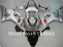 Injection For SUZUKI GSX-R1000 K3 03 04 GSX R1000 K3 Silver B89877 GSXR 1000 2003 2004 GSXR1000 Fairing Kit