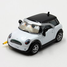 Disney Pixar Cars Cute Mini Cooper 1:55 Scale Diecast Metal Alloy Modle Cute Toys For Children Gifts Lightning Mcqueen(China)