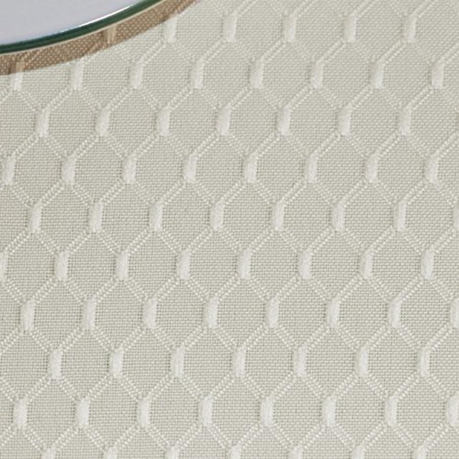 Plaid Beige Waterproof Table Cloth