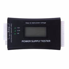 Digital Pantalla LCD Ordenador PC Power Supply Tester Checker 20/24 Pines Potencia de Medición Probador De Diagnóstico Herramientas FULI