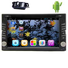 Auto Navigation PC Audio Bluetooth Video Receiver GPS Stereo 1080P WiFi APP USB Android 5.1 Car DVD Radio Touchscreen