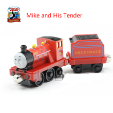 Thomas& Friends-Mike And His Tender Locomotive Diecast Metal Train Toys  Toy Magnetic Models Toys For Kids Children Gifts
