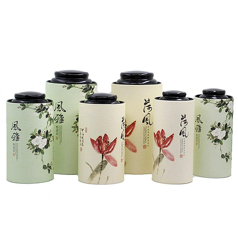 chinese styles round paper box (5)