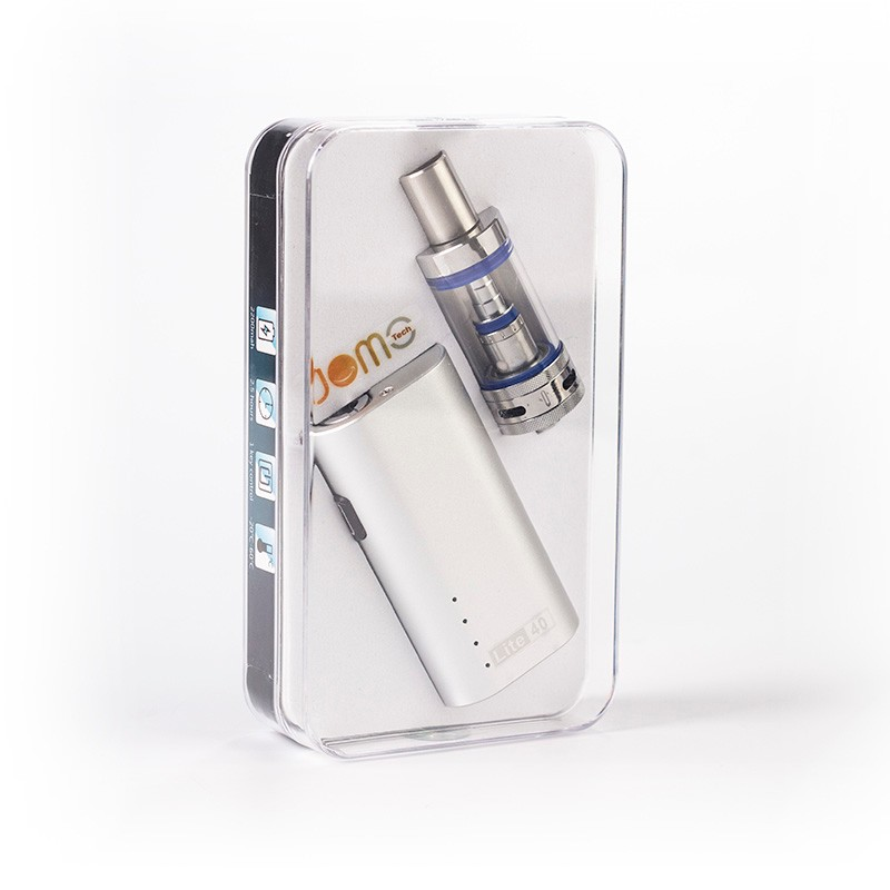Original Electronic Cigarette Kit 2200mAh Ecig Box Mod 0.5ohm Lite 40W Subohm Kit with 4ml Glass Tank+ Charger