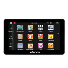 "US STOCK 7"" Portable HD Screen GPS Navigator 4GB ROM MP3 FM Video Play Car Entertainment System with Handwriting Pen +Free Map"