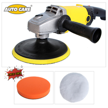 1200W Car Polisher Variable Speed 3000rpm 180mm Car Paint Care Polish Machine Sander 220V M14 Car Wax Electric Floor Polisher
