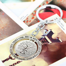Fashion Trust Love Dream Hope Keyring Life Tree Best Gifts For Chain Wedding Women Men Lady Family Keychain Party Key Ring Charm
