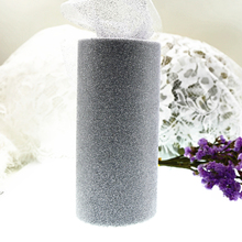 "Multicolors Glitter Shimmering Tulle Roll 6""x25yd Wedding Gift Bow Carft Tutu Shirt Wedding Decoration Product"