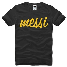 Buy Summer Style Messi Printed Mens Men T Shirt T-shirt Fashion 2017 New Short Sleeve O Neck Cotton Tshirt Tee Camisetas Masculina for $9.49 in AliExpress store