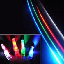 1PC LED Finger Lights Glowing Dazzle Colour Laser Emitting Lamps Wedding Celebration Festival Kid Birthday Party decor