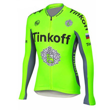 Buy Pro Team Fluorescent Green Cycling Clothing/Breathable Long Sleeve bicycle Cycling Jersey/Mountain Bike Sportwear Ropa Ciclismo for $19.35 in AliExpress store