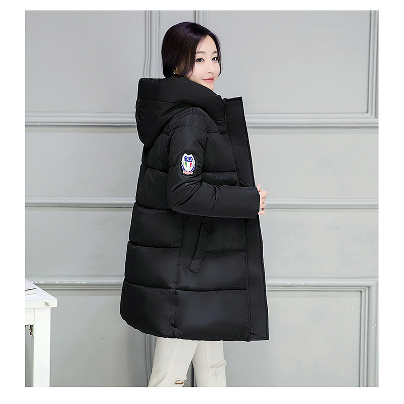 2017 Winter New Long Cotton Big yards Fashion cute lovely Hooded cotton-padded jacket Down coat YRF1611009Одежда и ак�е��уары<br><br><br>Aliexpress