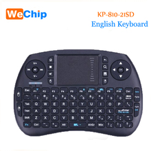 KP-810-21SD Wireless Keyboard 2.4GHz Air Mouse Remote Control Game Touchpad For Windows Linux Mac OS Android Smart TV PK I8