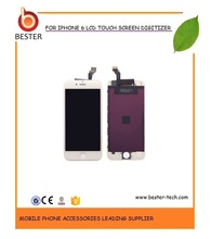 OEM 10PCS/LOT COMPETITIVE PRICE NEW HIGH QUALITY  LCD DIGITIZER TOUCH SCREEN ASSSEMBLY FOR  IPHONE 6  BLACK & WHITE