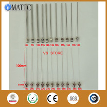 High Precision All Metal Tips Tube Length 10CM Blunt Stainless Steel 10PCS Dispensing Needles Syringe Needle Tips