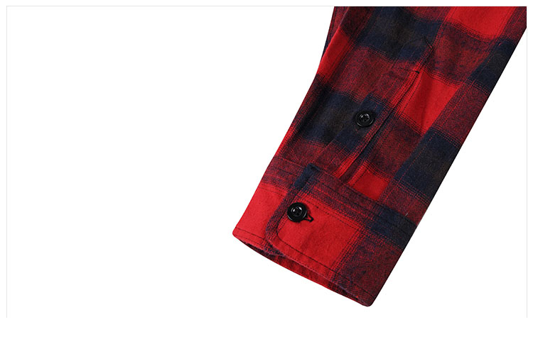 Aolamegs Shirts Men Classic Patchwork Plaid Male Shirts Thin Cotton Full Sleeve Shirt Fashion Casual Slim College Style Autumn (9)