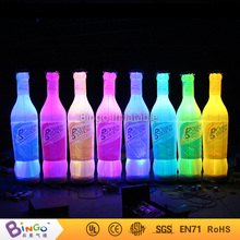 Advertising inflatable club soda bottle inflatable beverage can with led light N blower brinquedo advertising toy