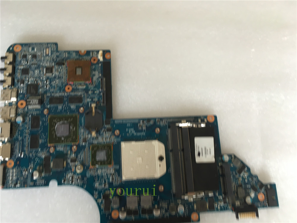 yourui for HP DV6 DV6-6000 laptop motherboard series 640454-001 NON-INTEGRATED Radeon HD 6470M DDR3 mainboard full test