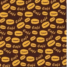"Coffee bean pattern chocolate transfer paper 10 sheets per pack chocolateria table 8.07 ""x 12.6"""