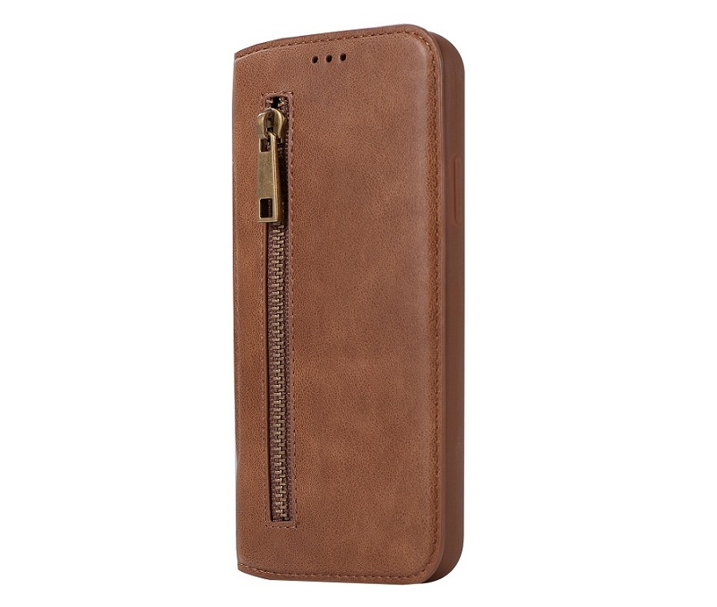genuine leather flip case for iPhone x luxury card cover