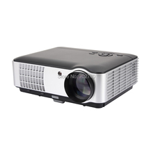 2017 New Smart TV Projector 5600 Lumens Digital Projector Full HD 1080P LED large screen Game Projector Free shipping