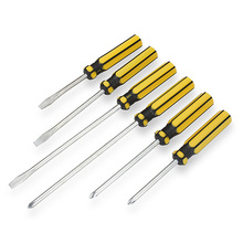 Top Fashion Destornillador Watch Microtech Halo 6pcs Slotted And Phillips Head Screwdriver Set Soft Grip Handles Tool Kit