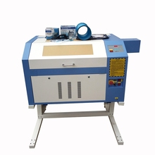 Cheap price 50/60/80/90W power CO2 laser engraver machine engraving cutting 4060 6040 with reddot position system high precision