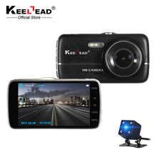 "KEELEAD H6S 4.0"" IPS Car DVR Dash Cam FHD 1080P LDWS ADAS with Rear view Auto Registrator Digital Video Recorder Camcorder"