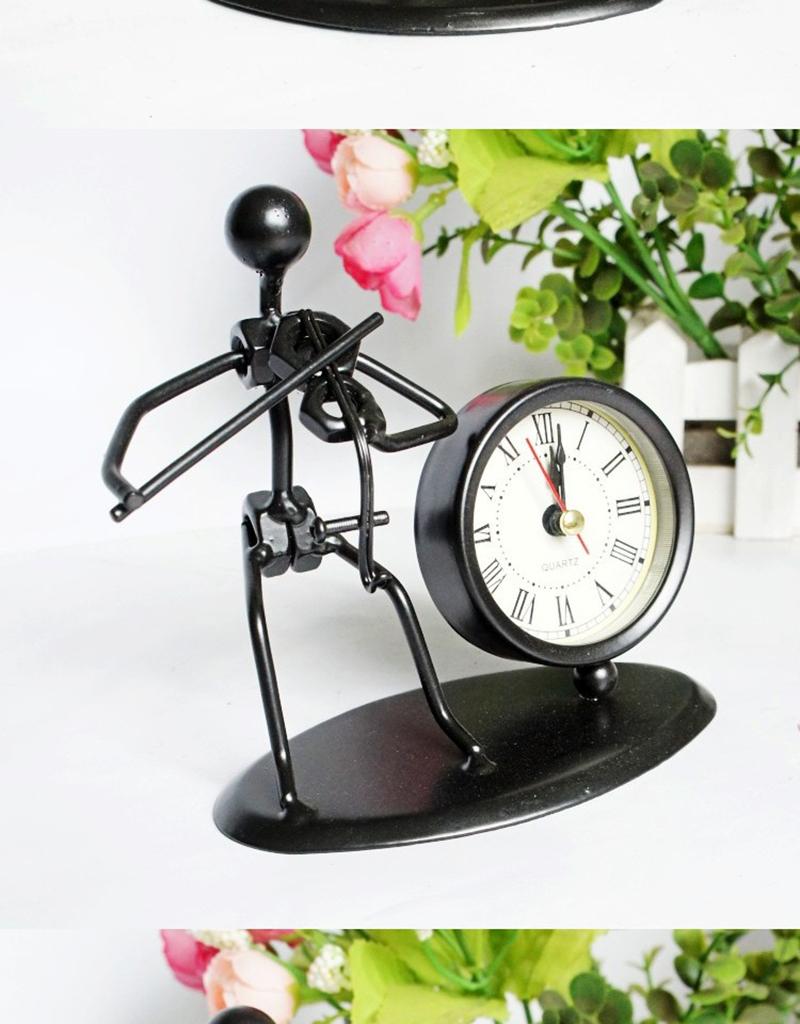 clock bicycle bureau kalender mesa vintage ahşap saat circular wood azan wall clock retro bamboo clock clock with pendulum clock humidity (3)