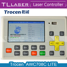 Trocen Anywells AWC 708C Lite CO2 Laser Controller DSP System Motherboard Replace AWC608 For Cutting Engraving Machine Parts