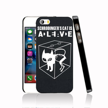 14931 The Big Bang Theory Sheldon Cooper Schrodinger 's Cat protective Cover cell phone Case for iPhone 4 4S 5 5S 5C SE 6 6S