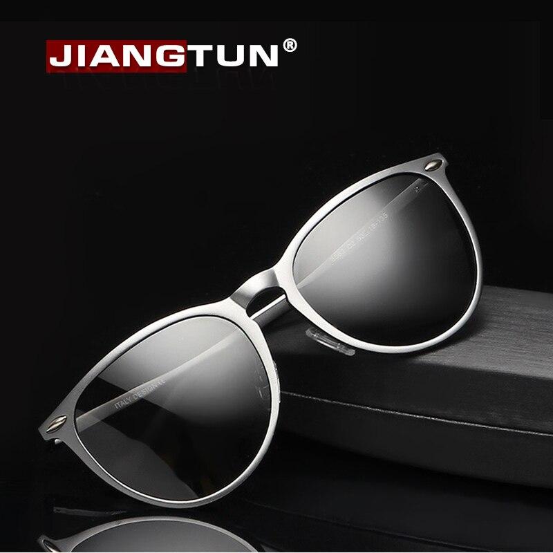 JIANGTUN Aluminum Magnesium Frame Cat Eye Sunglasses Fashion New Sun glasses Retro Style Polarized Lens Vintage Oculos<br><br>Aliexpress
