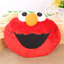 1PC 45*35cm Funny Cartoon Doll Sesame Street Elmo Plush Toy Pillow Cushion