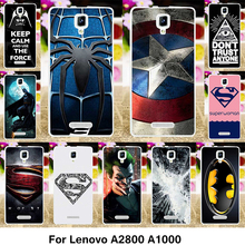 Buy TAOYUNXI Phone Cover Case Lenovo A1000 Cover A1000M A1000a20 A2800 Case A2800-D A2800D 4.0 inch TPU Silicone Captain America for $1.98 in AliExpress store