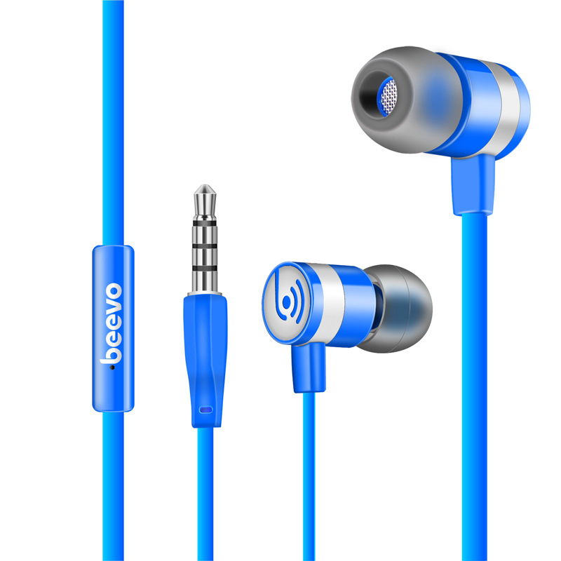 BEEVO Original EM330 In-Ear Super Bass Earphones Stereo Head phones Spot Running Head set Handfree + Mic for Iphone For Samsung(China)