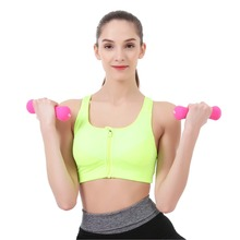 Crossfit Women 1kg Dumbbell Fitness Equipment Weights Dumb Bell Slimming Body Building Exercise Dumbell Handweights(China)