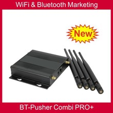 BT-Pusher bluetooth advertising device & Free wifi proximity mobiles marketing equipment COMBI PRO+ with car charger