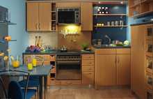 Guangzhou wholesale kitchen cabinet door 954