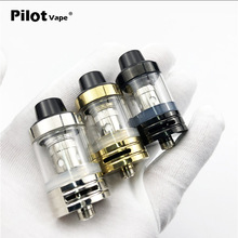 Pilot Vape Subohm a Tank Atomizer 2.5ML 510 Thread 0.5ohm Atomizer Tank with Spare 0.3ohm Coil Packing Fit for 510 Battery Mod(China)