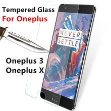 Tempered Glass For Oneplus 3 X Oneplus3 OneplusX 1+3 1+X mobile phone smartphone Screen protect film Cover discount