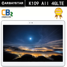 CARBAYSTAR K109 Android 6.0 tablet Pcs 10.1 inch tablet PC smartphone 4G LTE octa core 1920x1200 4+64 Dual SIM GPS IPS FM tablet