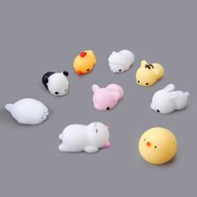 Mini Squishy Rabbit Seal Cat Cute Phone Straps Slow Rising Soft Press Squeeze Kawaii best Squishy Kids Toy Phone DIY Accessories