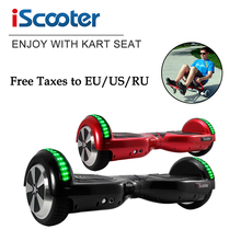 iScooter hoverboard 2 Wheel self Balance Electric scooter unicycle Standing Smart two wheel Skateboard drift balancing scooter(China)
