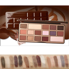 16 Colors Pro Eyeshadow Matte Shimmer Palette Set Hot Earth Color with Blended brush Makeup Kit Brand New
