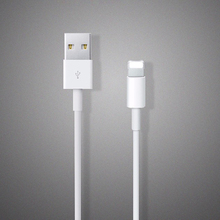 Original 1:1 White 8pin USB 1M Wire Date Sync Charging Charger Cable for iPhone 7 Plus 5 5s 6 6s plus For iPad for ios 8 9