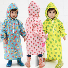 2-4 years old Kids Rain Coat children Raincoat Rainwear Rainsuit,Kids Waterproof Cute Animal Raincoat Free Shipping