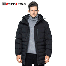 winter men jackets cotton padded coats thicken parka homme mens long jackets outwear warm thickening clothing#18138 holyrising(China)