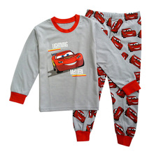 New pajamas kids for girls boys Children sleepwear pants kids sets baby underwear long sleeves clothes cartoon cotton cheap new